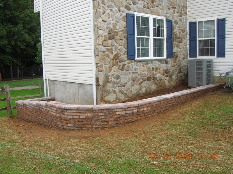 Large Retaining Walls Driveways With Drainage