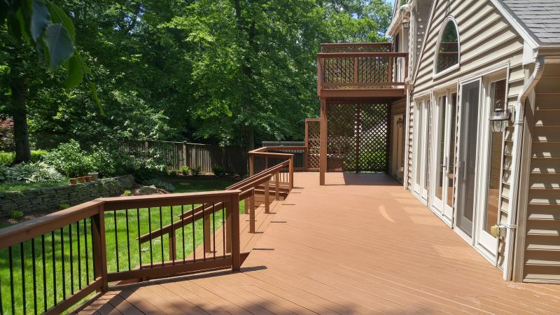 Deck Staining ,Sanding/Repair, Pressure Washing, AndrewVilcheck.com